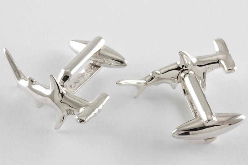 Hammerhead Cuff links