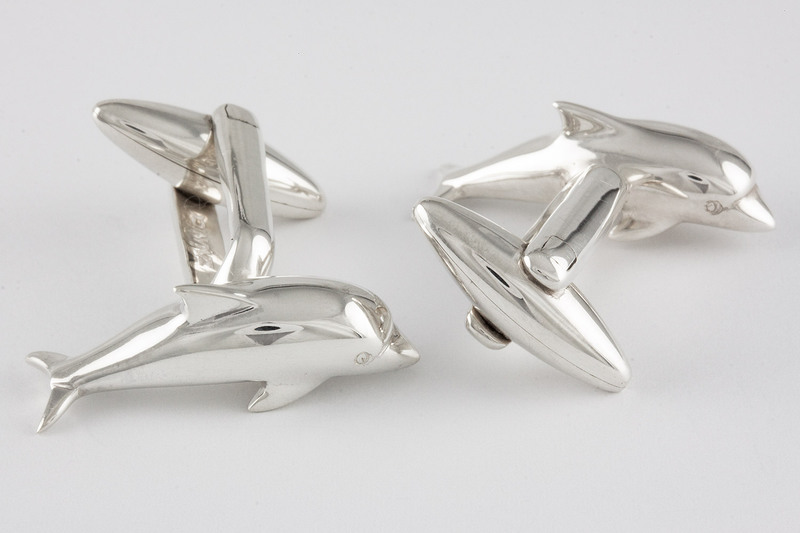 Dolphin Cuff links