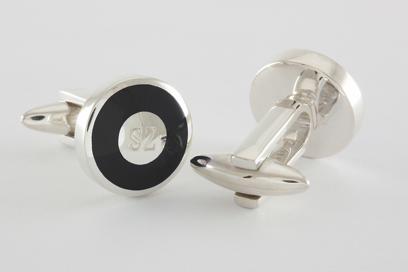 Initials Cuff links