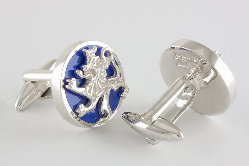 Blue lion Cufflinks