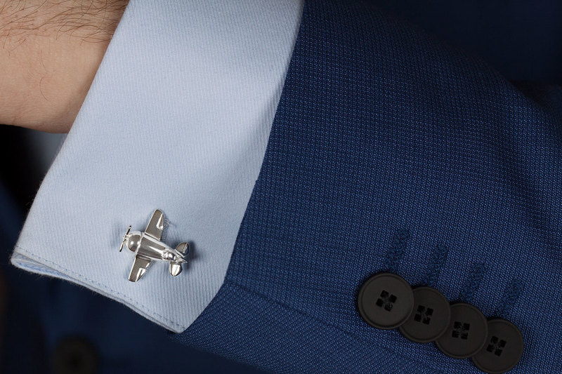 Airplane Cuff links