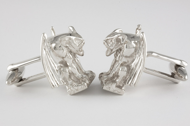 Gargoyle Cuff links