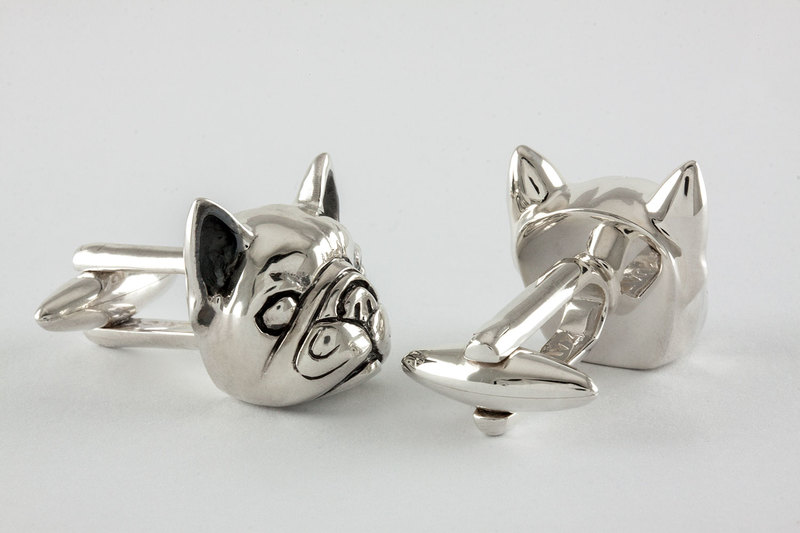 Frensh bulldog Cuff links