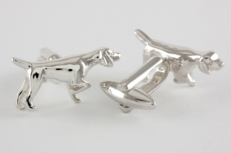 German shorthaired pointer Cufflinks