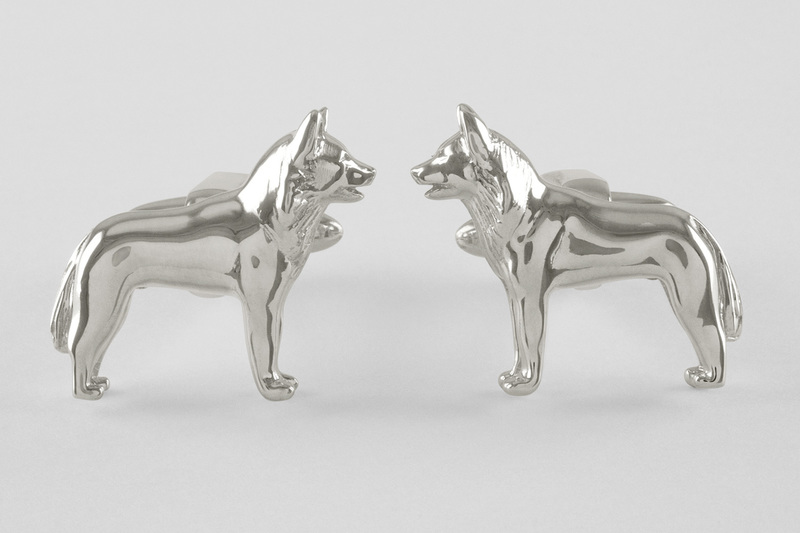 Sledge dog Cufflinks