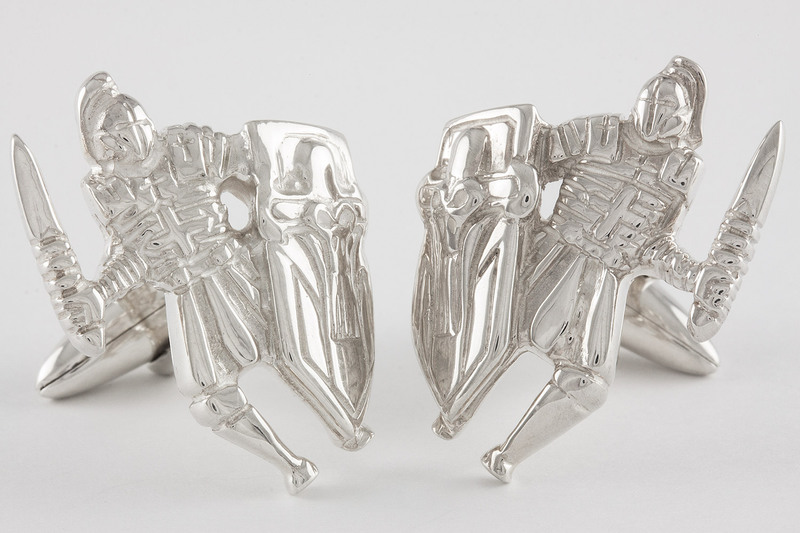 Knight Cuff links