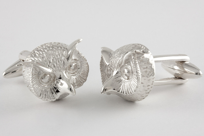 Owl Cuff links