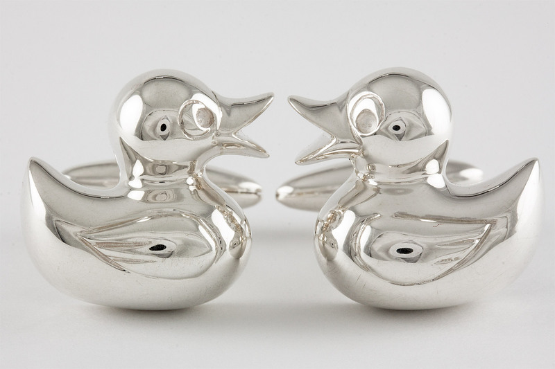 Duck Cuff links