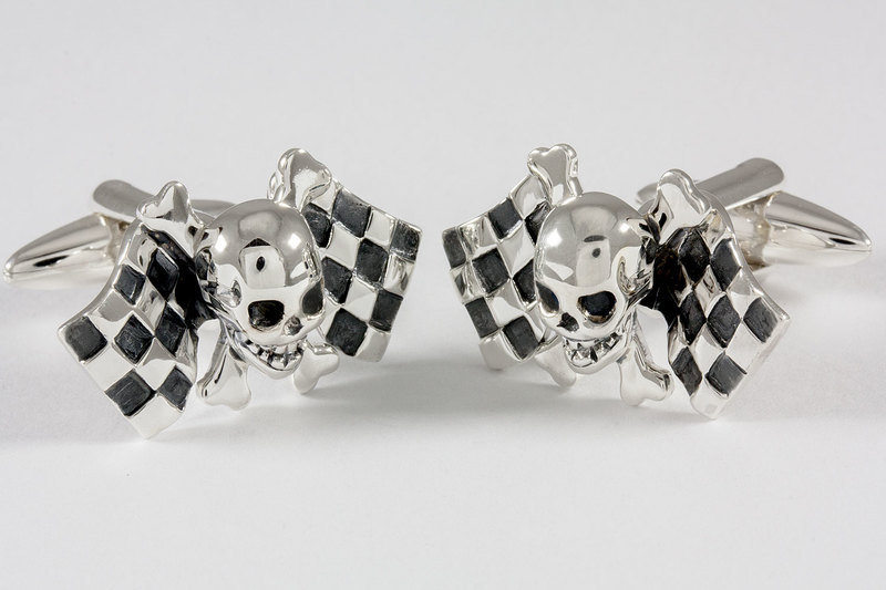 Raceflags Cufflinks