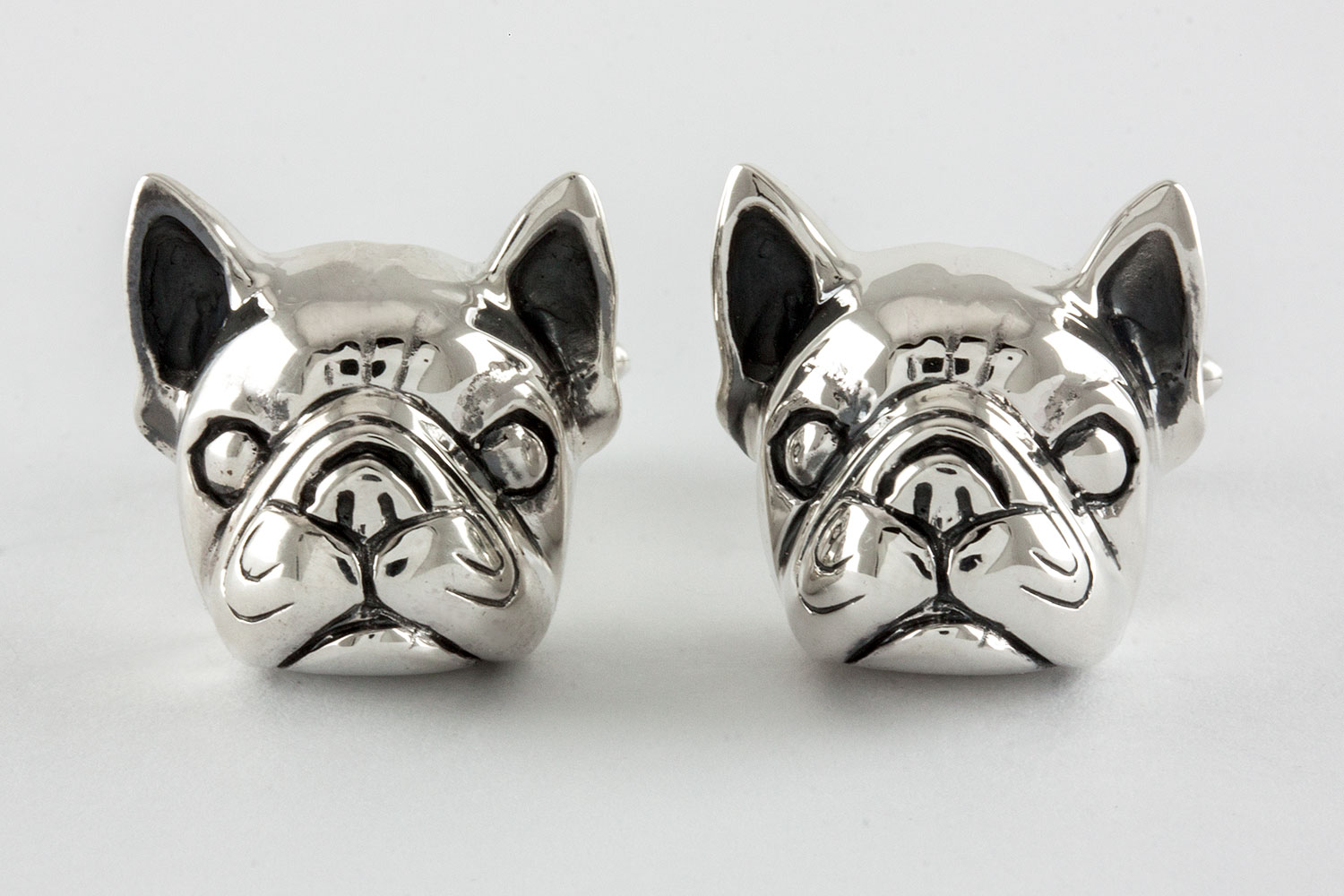 frensh bulldog cufflinks