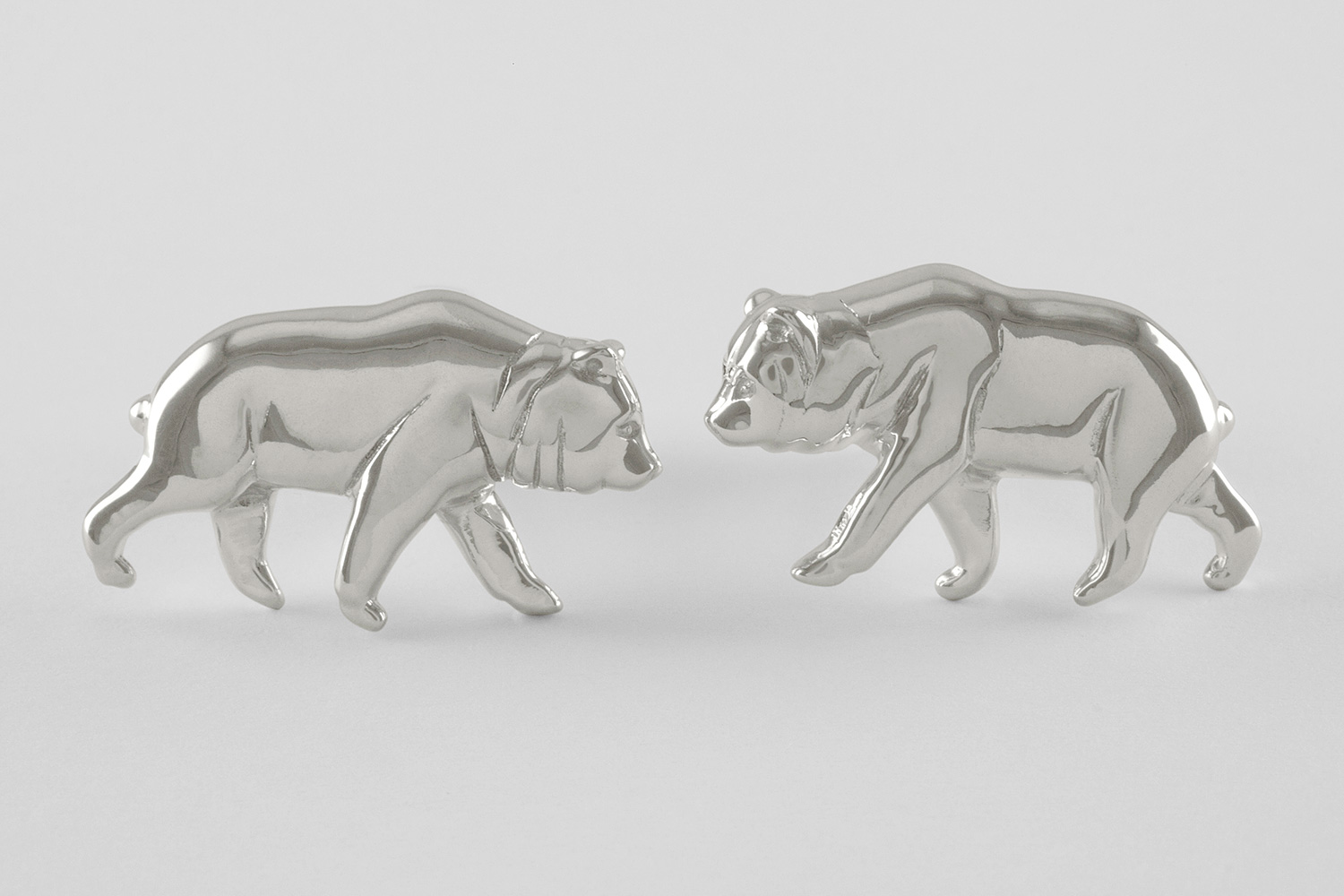 grizzly cufflinks