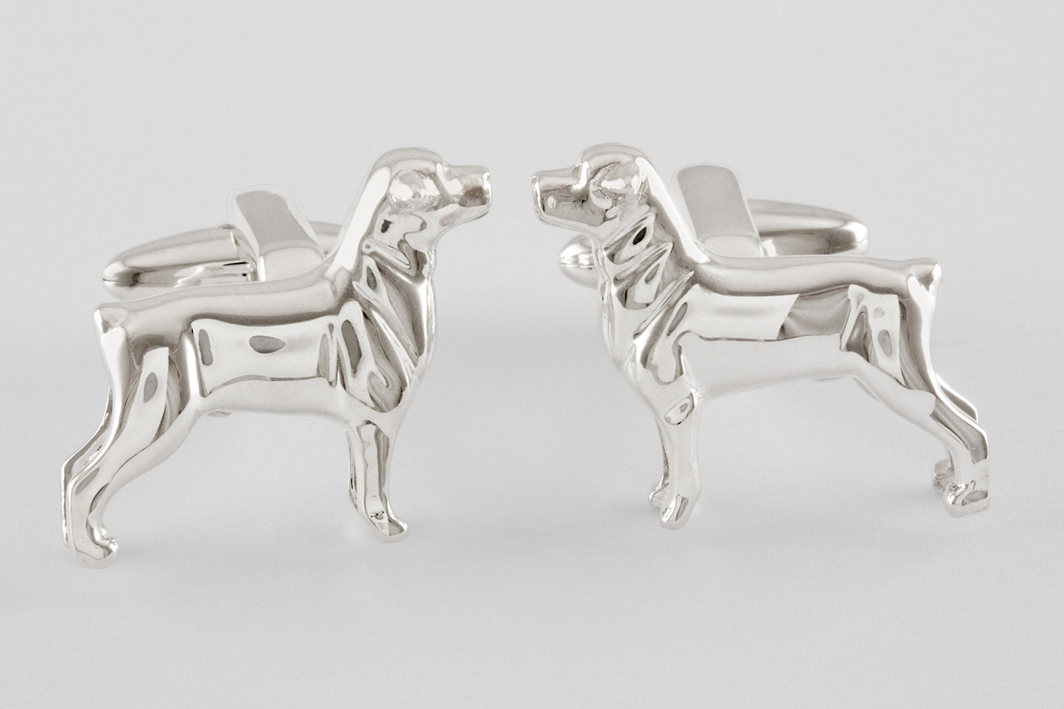 rottweiler dog cufflinks